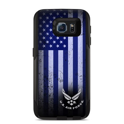 OtterBox Commuter Galaxy S6 Case Skin - USAF Flag