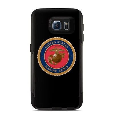 OtterBox Commuter Galaxy S6 Case Skin - USMC Black