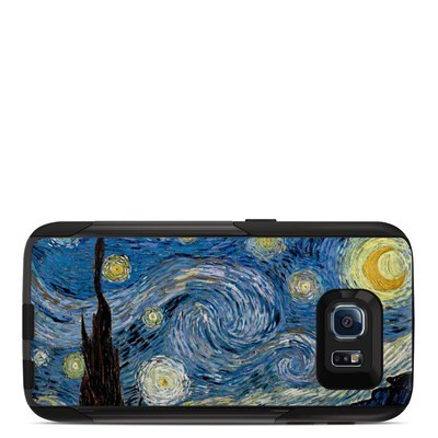OtterBox Commuter Galaxy S6 Case Skin - Starry Night