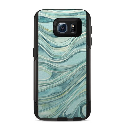 OtterBox Commuter Galaxy S6 Case Skin - Waves