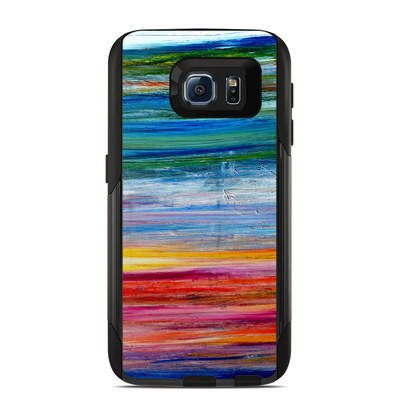 OtterBox Commuter Galaxy S6 Case Skin - Waterfall