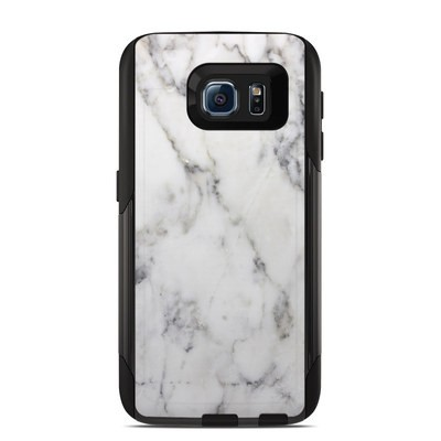 OtterBox Commuter Galaxy S6 Case Skin - White Marble