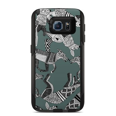 OtterBox Commuter Galaxy S6 Case Skin - Woodland Fox
