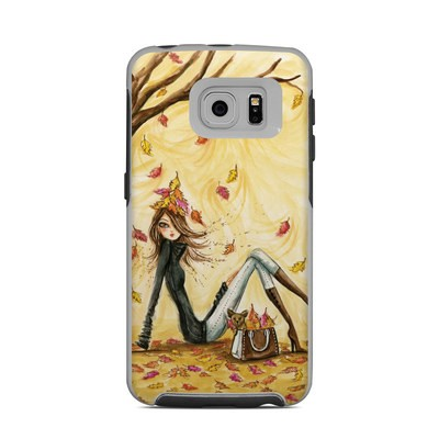 OtterBox Commuter Galaxy S6 Edge Case Skin - Autumn Leaves
