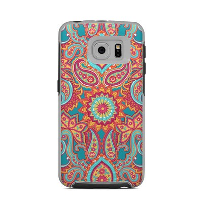 OtterBox Commuter Galaxy S6 Edge Case Skin - Carnival Paisley