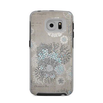 OtterBox Commuter Galaxy S6 Edge Case Skin - Christmas In Paris