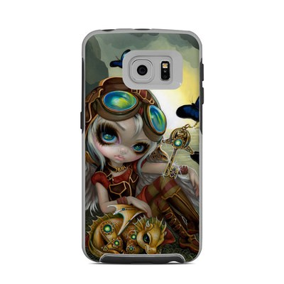 OtterBox Commuter Galaxy S6 Edge Case Skin - Clockwork Dragonling
