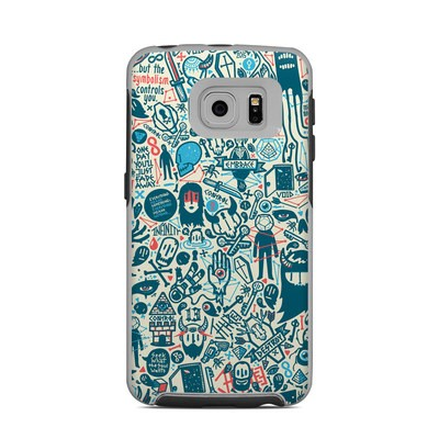OtterBox Commuter Galaxy S6 Edge Case Skin - Committee