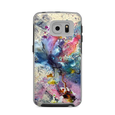 OtterBox Commuter Galaxy S6 Edge Case Skin - Cosmic Flower