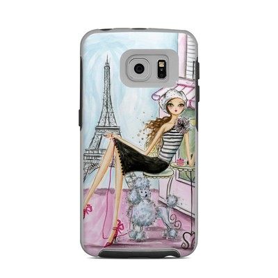 OtterBox Commuter Galaxy S6 Edge Case Skin - Cafe Paris