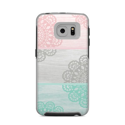 OtterBox Commuter Galaxy S6 Edge Case Skin - Doily