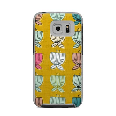 OtterBox Commuter Galaxy S6 Edge Case Skin - Flower Cups