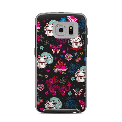 OtterBox Commuter Galaxy S6 Edge Case Skin - Geisha Kitty