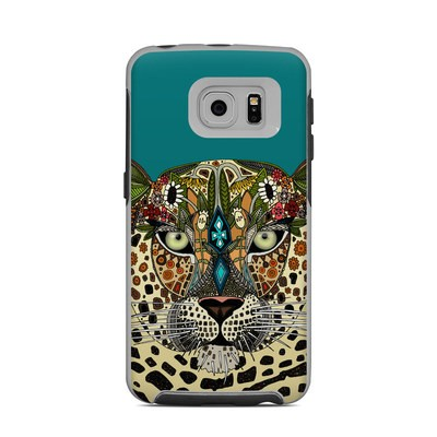 OtterBox Commuter Galaxy S6 Edge Case Skin - Leopard Queen