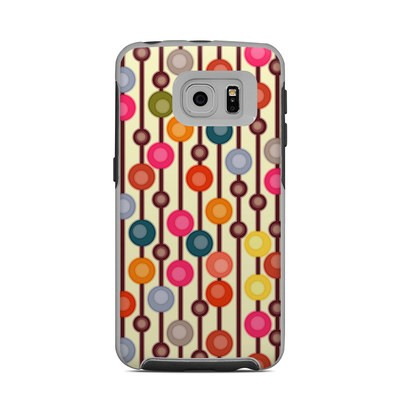 OtterBox Commuter Galaxy S6 Edge Case Skin - Mocha Chocca