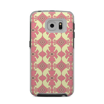 OtterBox Commuter Galaxy S6 Edge Case Skin - Parade of Elephants
