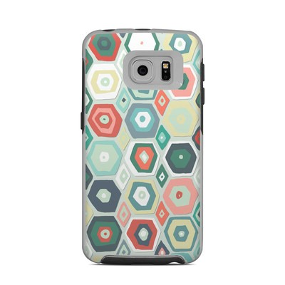 OtterBox Commuter Galaxy S6 Edge Case Skin - Pastel Diamond