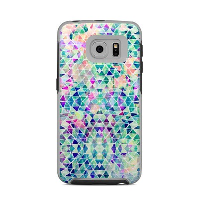 OtterBox Commuter Galaxy S6 Edge Case Skin - Pastel Triangle