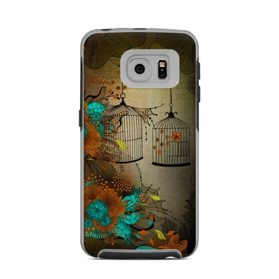 OtterBox Commuter Galaxy S6 Edge Case Skin - Rusty Lace