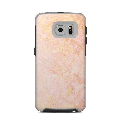 OtterBox Commuter Galaxy S6 Edge Case Skin - Rose Gold Marble