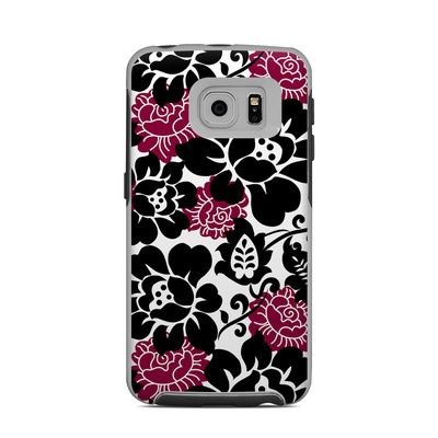 OtterBox Commuter Galaxy S6 Edge Case Skin - Rose Noir
