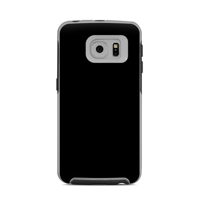 OtterBox Commuter Galaxy S6 Edge Case Skin - Solid State Black