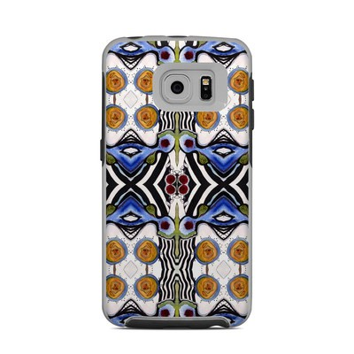 OtterBox Commuter Galaxy S6 Edge Case Skin - Tribal Sun
