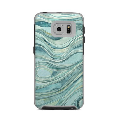 OtterBox Commuter Galaxy S6 Edge Case Skin - Waves