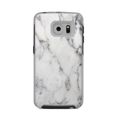 OtterBox Commuter Galaxy S6 Edge Case Skin - White Marble