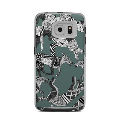 OtterBox Commuter Galaxy S6 Edge Case Skin - Woodland Fox