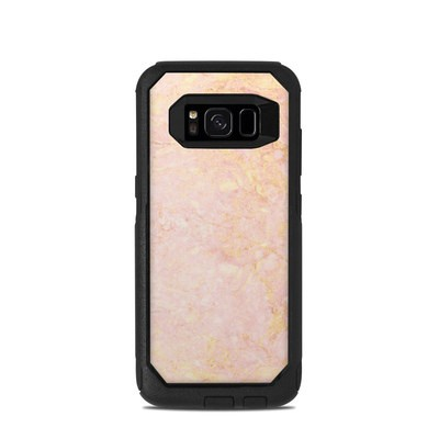 OtterBox Commuter Galaxy S8 Case Skin - Rose Gold Marble