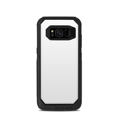 OtterBox Commuter Galaxy S8 Case Skin - Solid State White