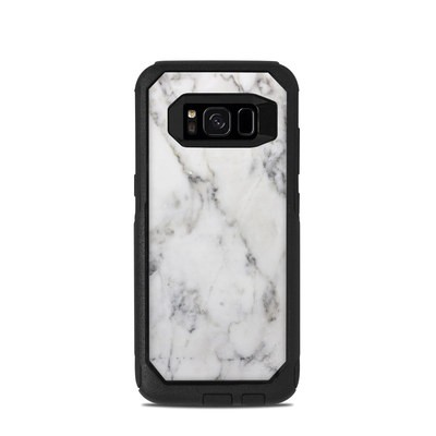 OtterBox Commuter Galaxy S8 Case Skin - White Marble