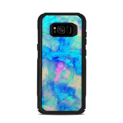 OtterBox Commuter Galaxy S8 Plus Case Skin - Electrify Ice Blue