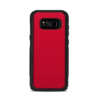OtterBox Commuter Galaxy S8 Plus Case Skin - Solid State Red