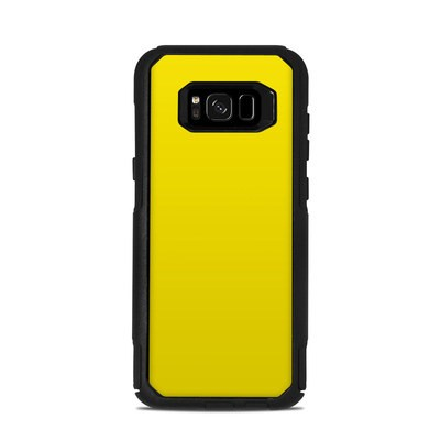 OtterBox Commuter Galaxy S8 Plus Case Skin - Solid State Yellow