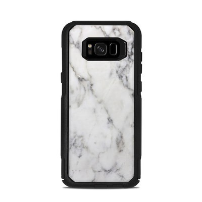 OtterBox Commuter Galaxy S8 Plus Case Skin - White Marble