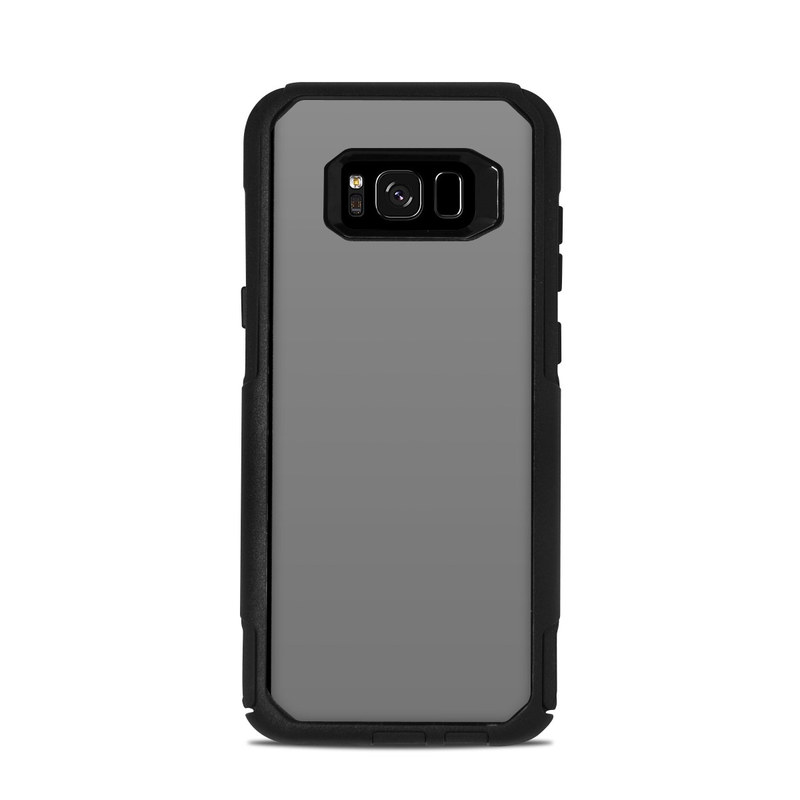 online store 5aadb dc725 OtterBox Commuter Galaxy S8 Plus Case Skin - Solid State Grey
