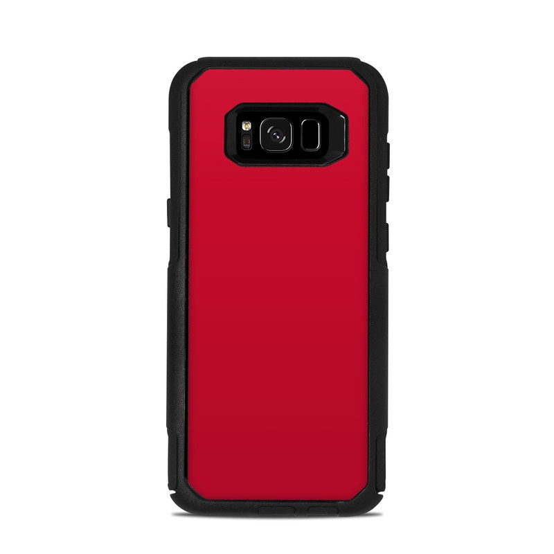 new concept a48a7 407aa OtterBox Commuter Galaxy S8 Plus Case Skin - Solid State Red