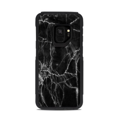 OtterBox Commuter Galaxy S9 Case Skin - Black Marble
