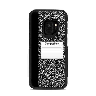 OtterBox Commuter Galaxy S9 Case Skin - Composition Notebook