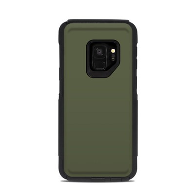 OtterBox Commuter Galaxy S9 Case Skin - Solid State Olive Drab
