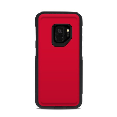 OtterBox Commuter Galaxy S9 Case Skin - Solid State Red
