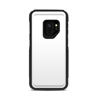 OtterBox Commuter Galaxy S9 Case Skin - Solid State White