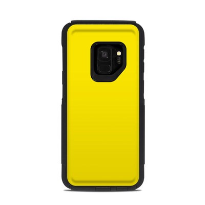 OtterBox Commuter Galaxy S9 Case Skin - Solid State Yellow