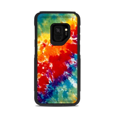 OtterBox Commuter Galaxy S9 Case Skin - Tie Dyed