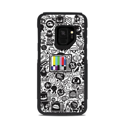 OtterBox Commuter Galaxy S9 Case Skin - TV Kills Everything