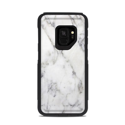 OtterBox Commuter Galaxy S9 Case Skin - White Marble