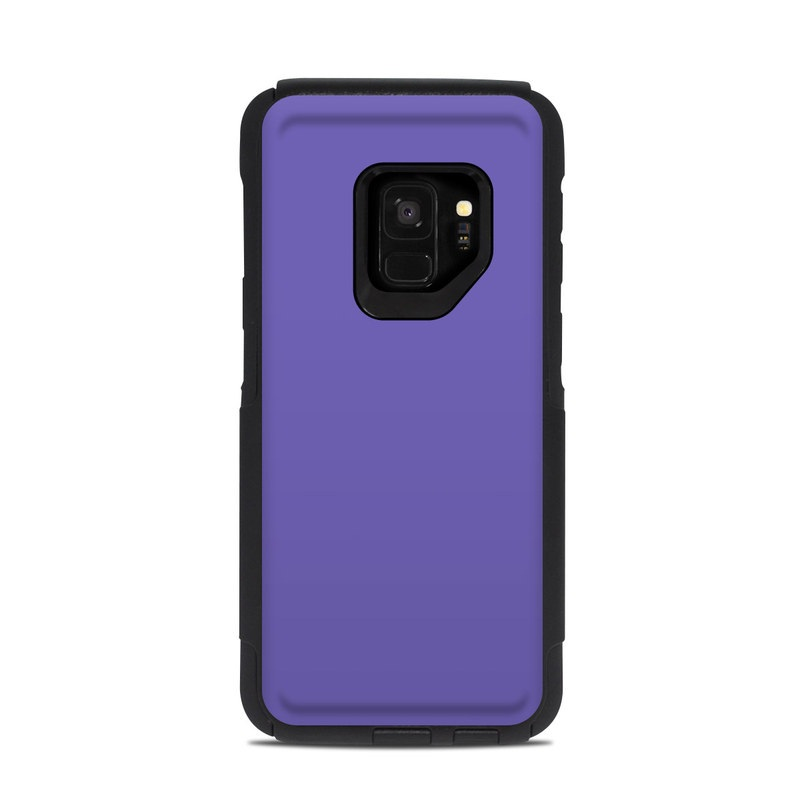 low priced e96a6 bc720 OtterBox Commuter Galaxy S9 Case Skin - Solid State Purple