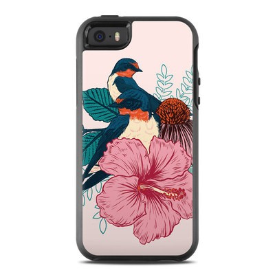 OtterBox Symmetry iPhone SE Case Skin - Barn Swallows